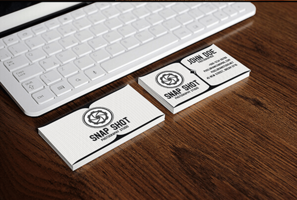 Top Free Business Card PSD Mockup Templates In Colorlib - Free business card layout template