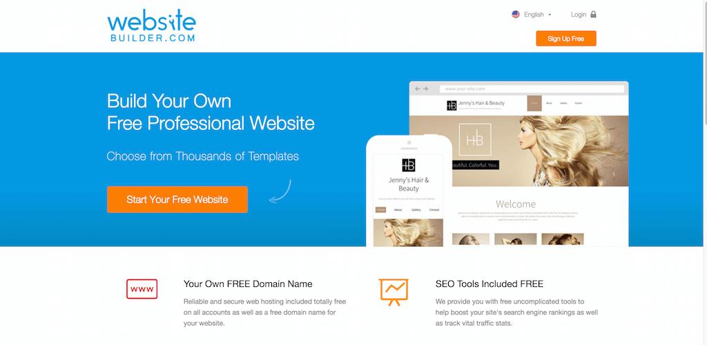 Free Website Builder Build Your Own Free Website WebsiteBuilder