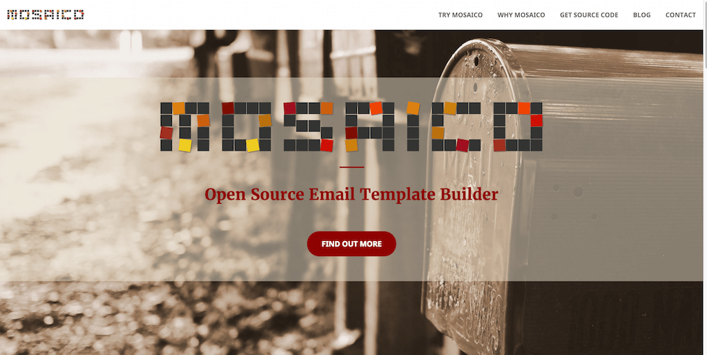 Free email template builder Responsive mail editor and designer Mosaico.io