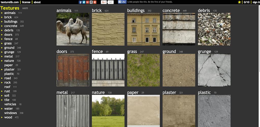 Free textures Texturelib
