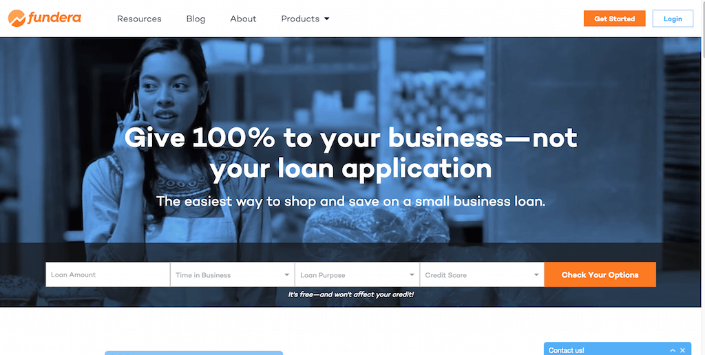 Fundera Small Business Loans Made Easy