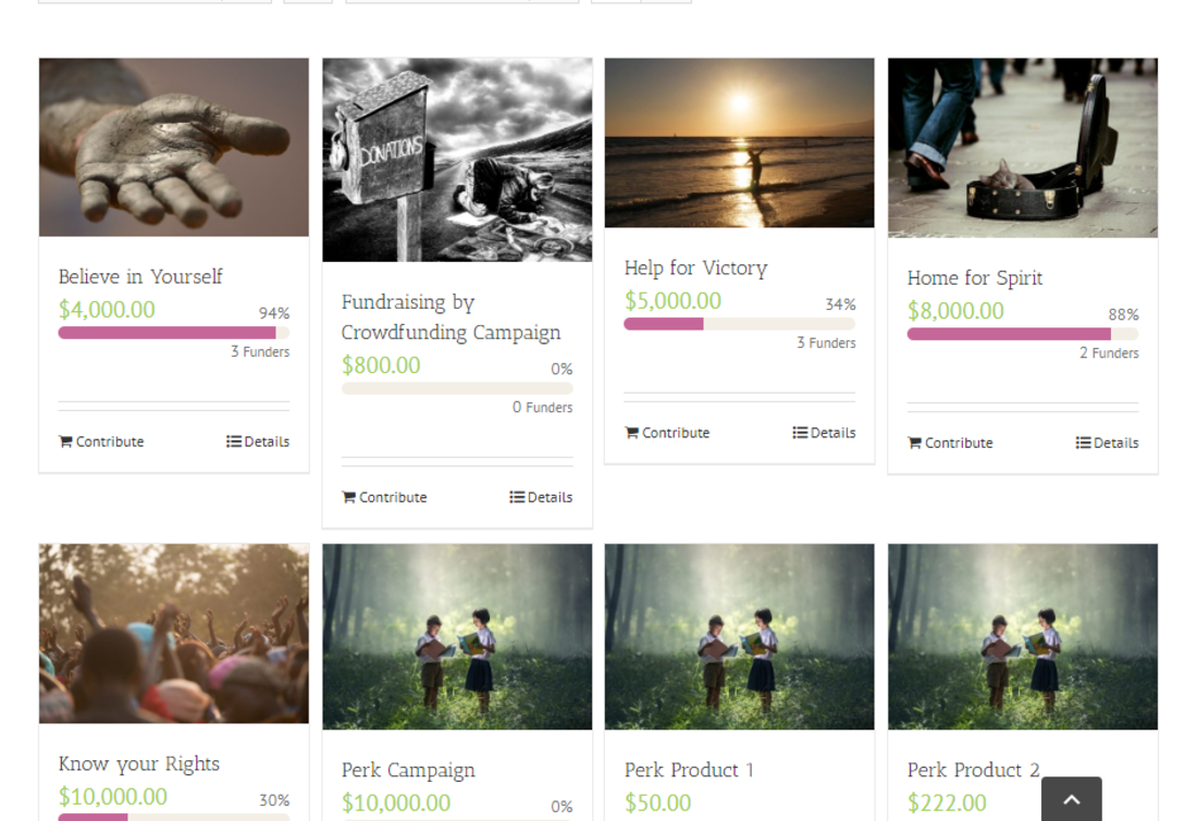 Functional WordPress Crowdfunding Plugins