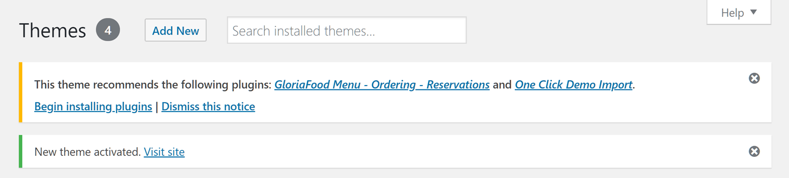 , GloriaFood Restaurant Theme Review – Create a Restaurant Website for Free, Rojak WP