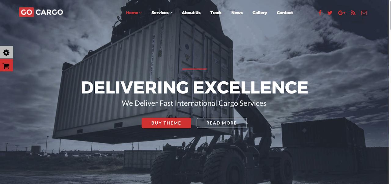 Best Transport WordPress Theme For Logistics Business