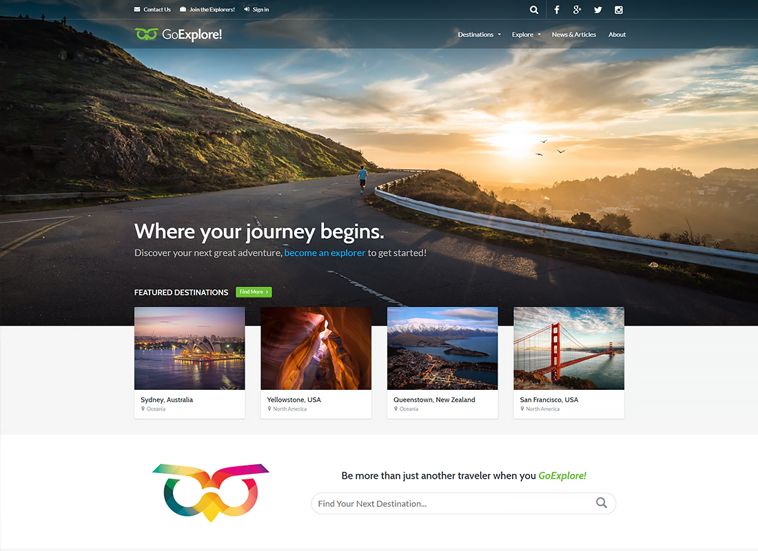 , Bright Vacation Planning WordPress Themes for Your Dream Journey, Rojak WP