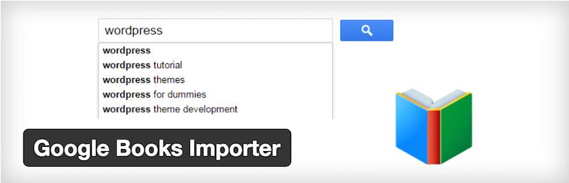Google Books Importer