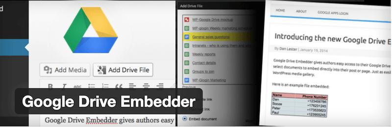 Google Drive Embedder