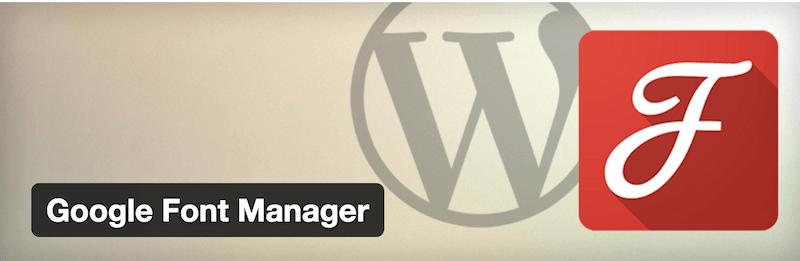 Google Font Manager