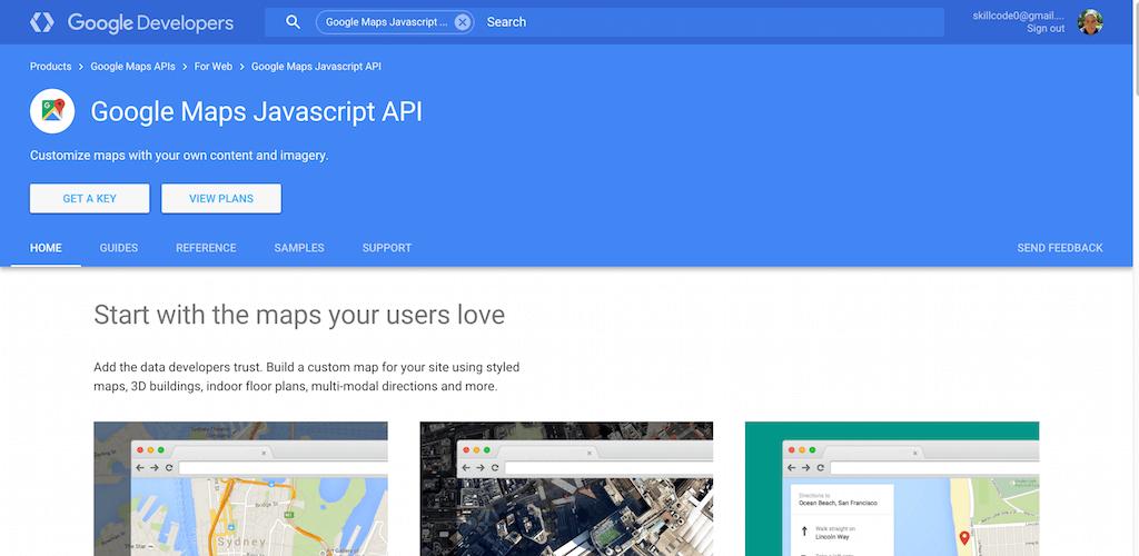 Google Maps Javascript Api Google Developers