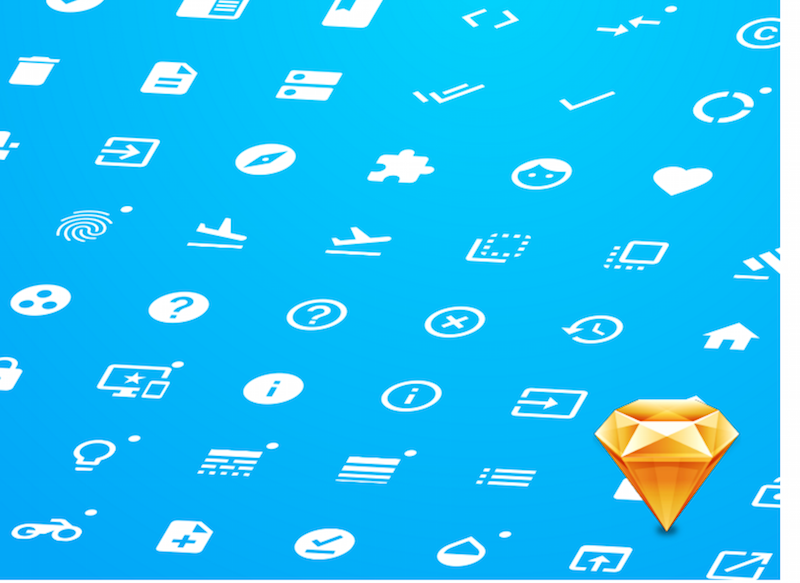 Google - Material icons for Sketch