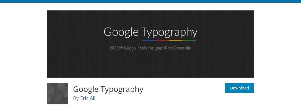 Google Typography