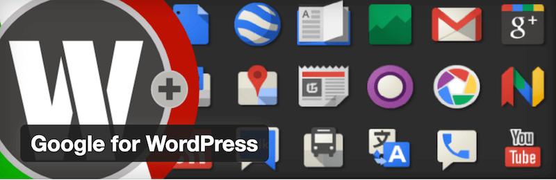Google for WordPress