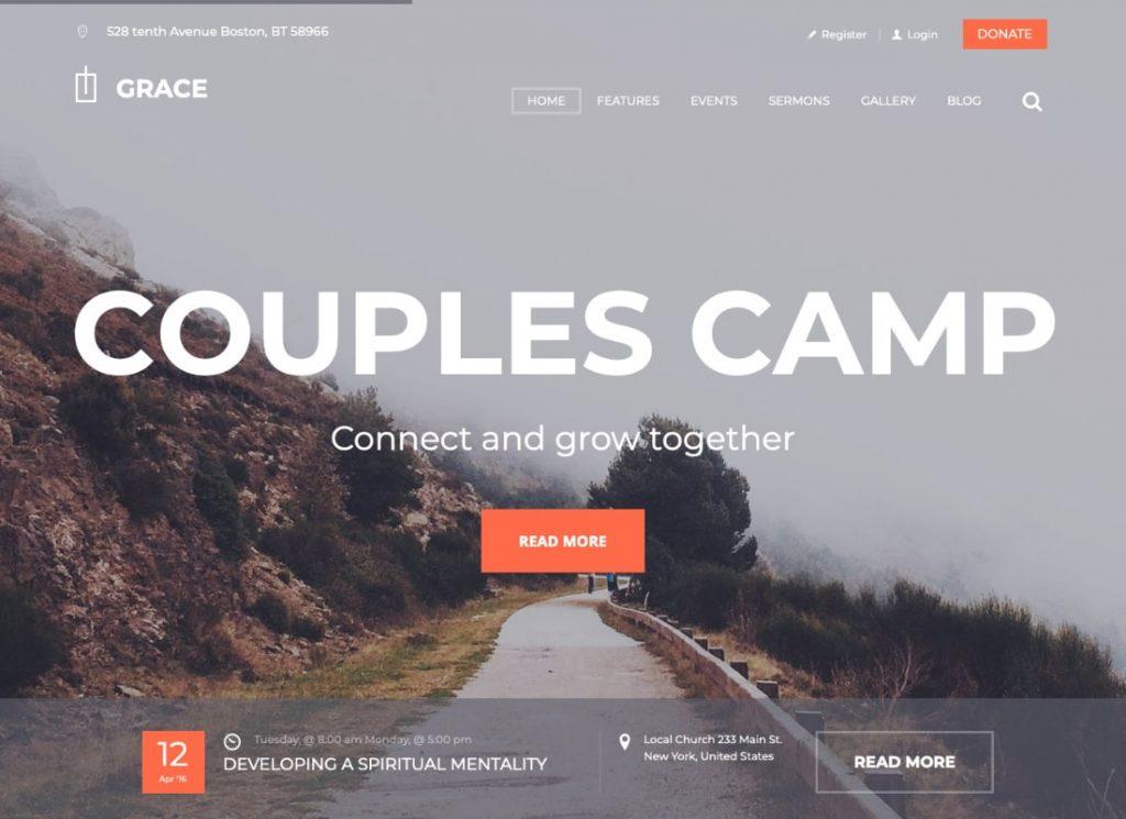 Grace | Church & Religion WordPress Theme
