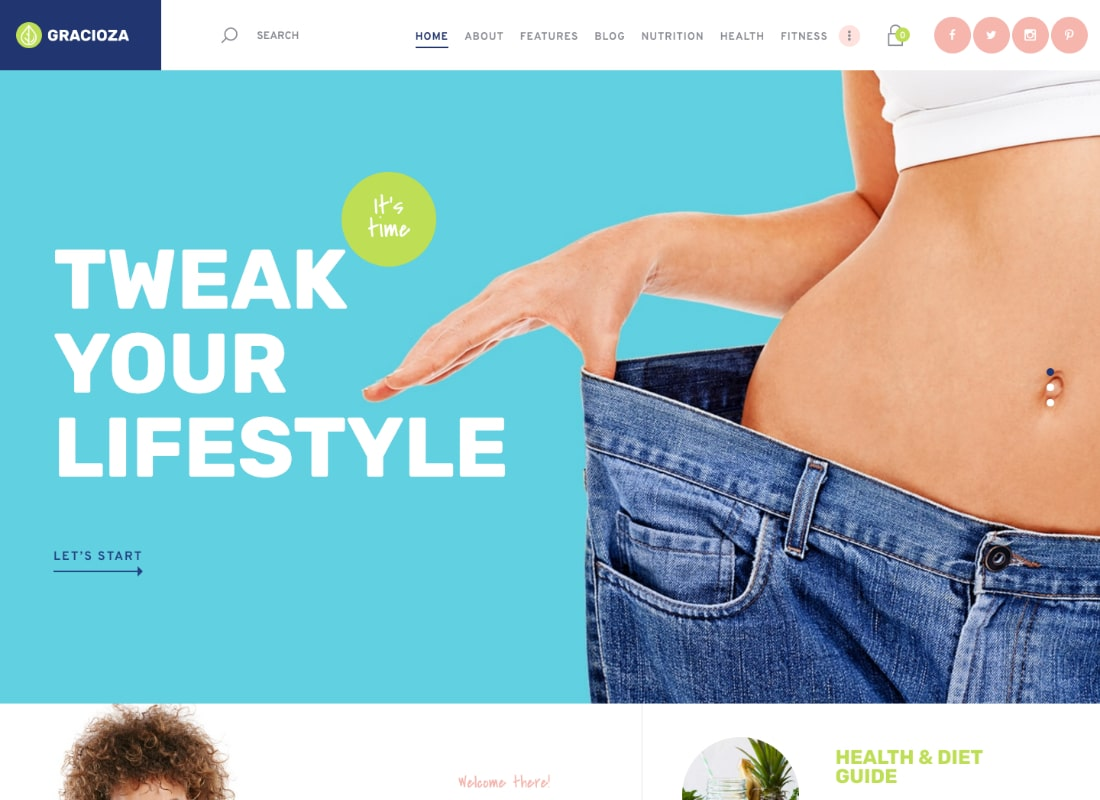 , Top 20 Health & Nutrition Coach WordPress Themes for Making Your Website Shine, Rojak WP