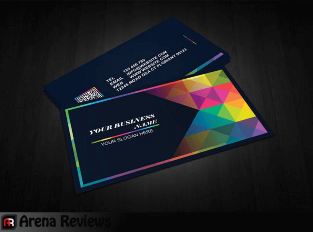 Top 18 free business card psd mockup templates in 2018 colorlib graphic design business card template free download reheart Images