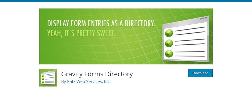 Gravity Forma Directory