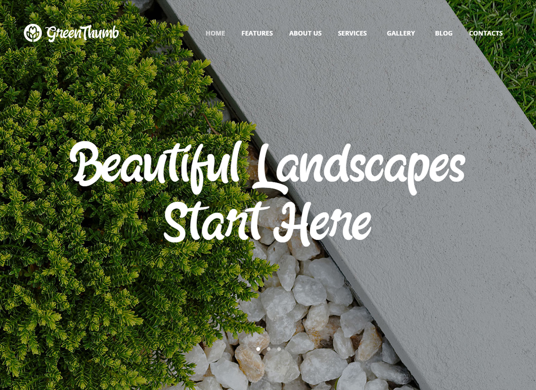 Green Thumb - Gardening & Landscaping WordPress Theme