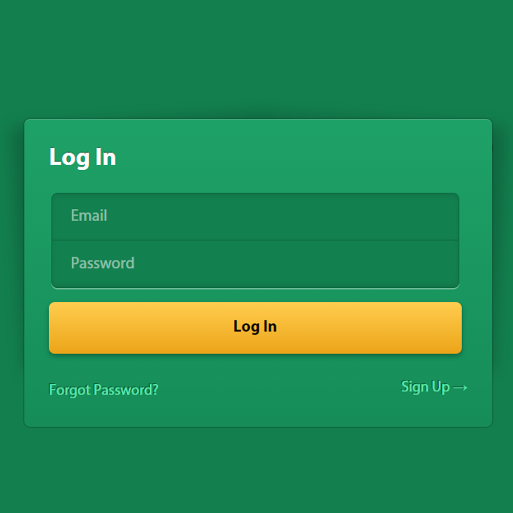 Green And Yellow Login