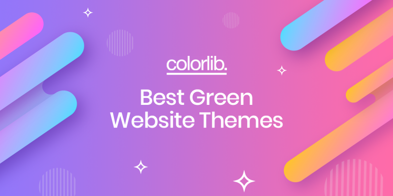 10+ Best Green Inspired Website Themes