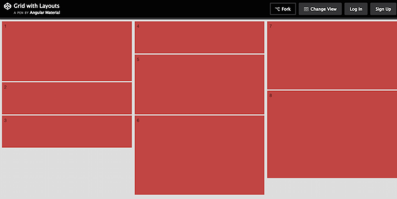 Grid with Layouts