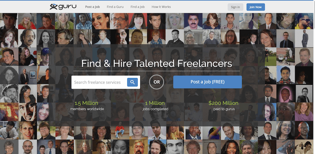 Guru Hire Quality Freelancers And Find Freelance Jobs