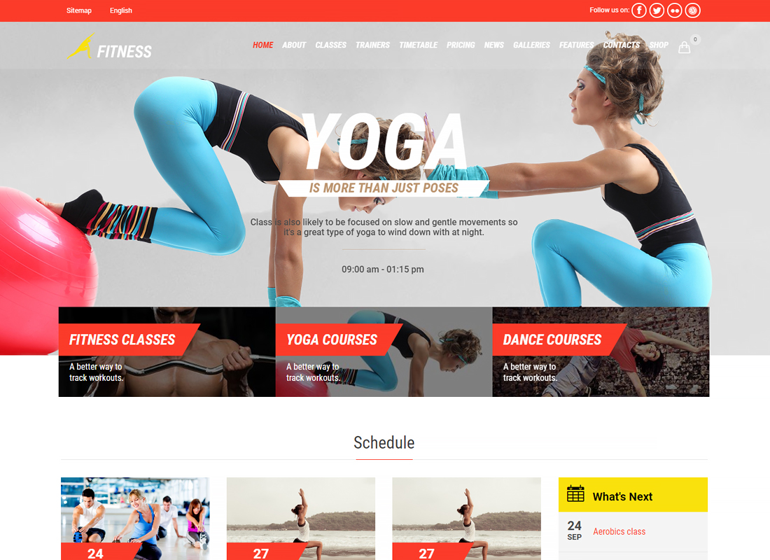 Gym & Fit | Fitness Gym and Fitness Centers WordPress Theme