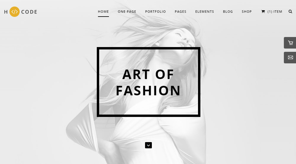 H-Code Theme Review Demo Fashion