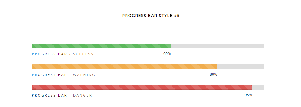H-Code Theme Review Progress Bar