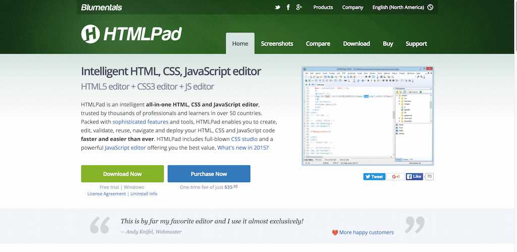 , Top 7 Text Editors for HTML5 Developers 2020, Rojak WP