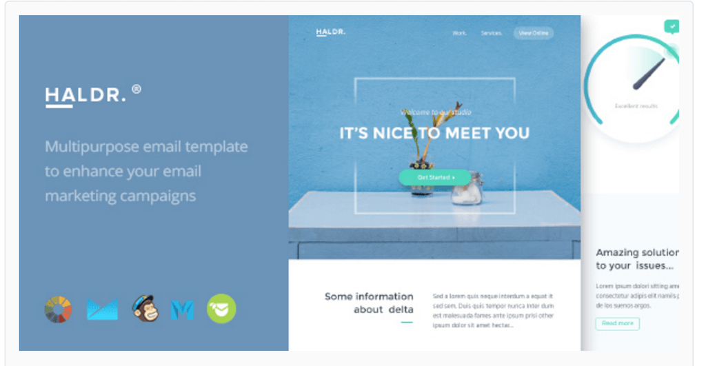 email template design inspiration