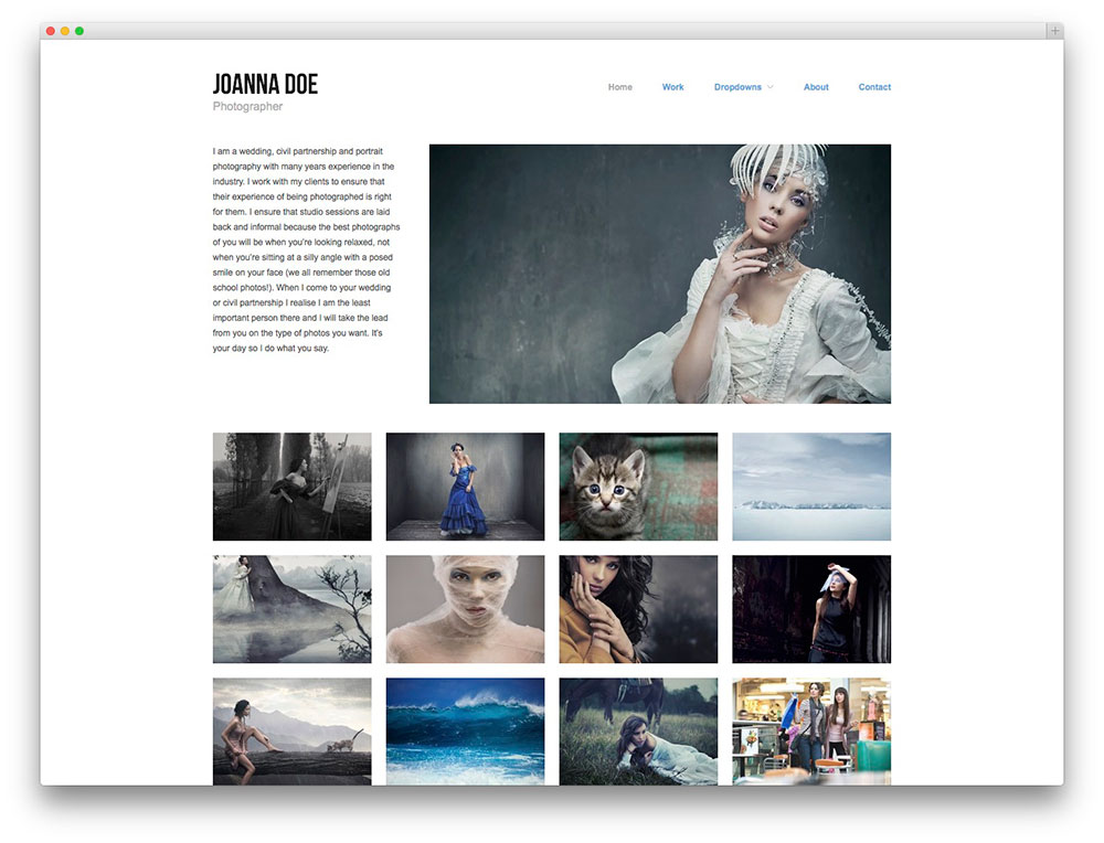 Hatch - Portfolio theme
