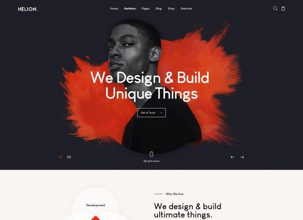Personal Creative Portfolio WordPress Theme + Store