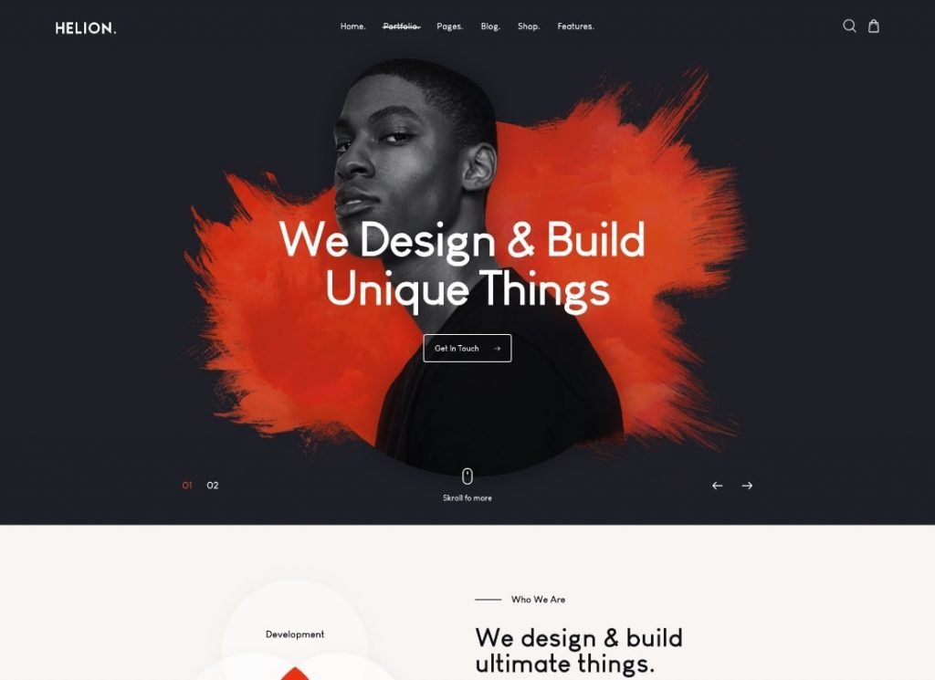 , Top Video Header WordPress Themes to Make an Amazing First Impression, Rojak WP
