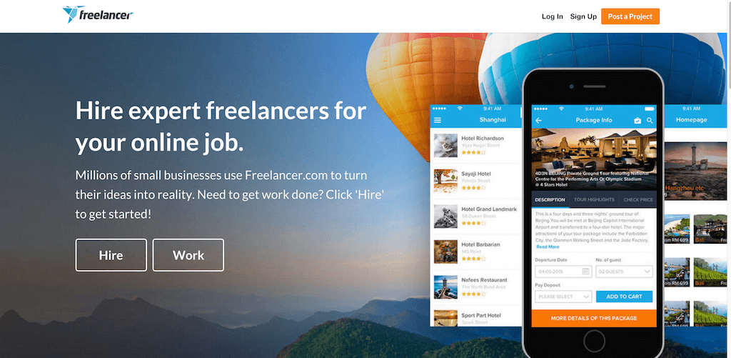 Hire Freelancers Find Freelance Jobs Online Freelancer