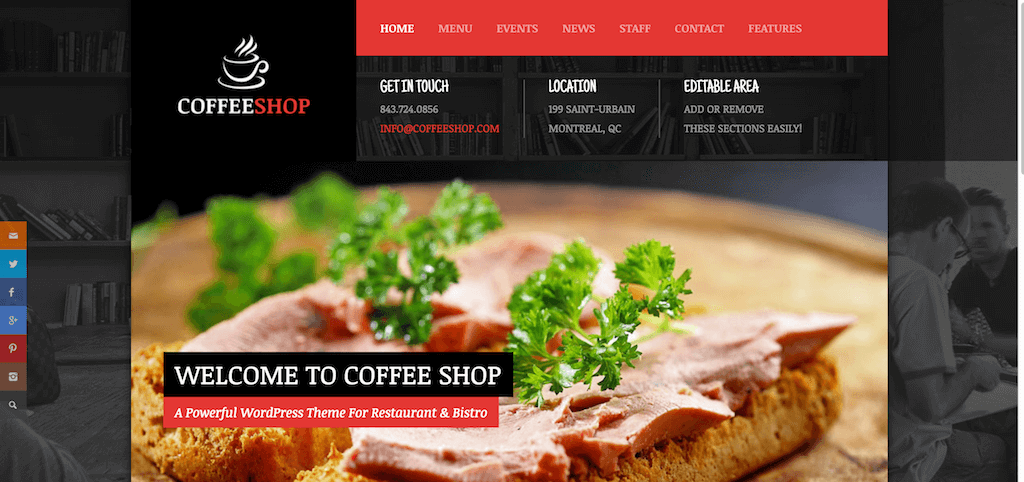 Home Coffee Shop Just another DanyDuchaine Sites site