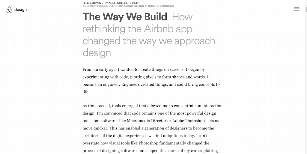 How rethinking the Airbnb app changed the way we approach design