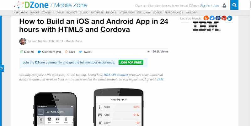 How to Build an iOS and Android App in 24 hours with HTML5 and Cordova