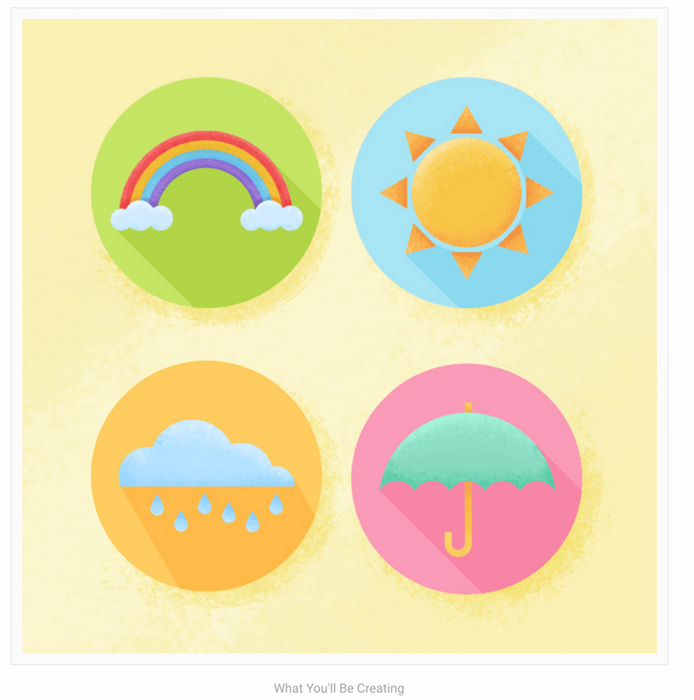 How to Create Flat Weather Icons in Adobe Photoshop