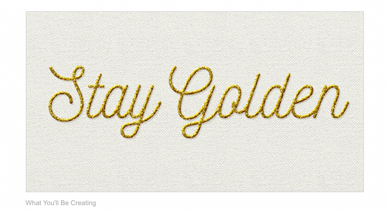 How to Create a Glittering Gold Thread Text Effect in Adobe Photoshop