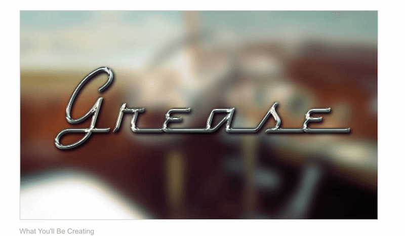 How to Create a Retro Chrome Text Effect in Adobe Photoshop