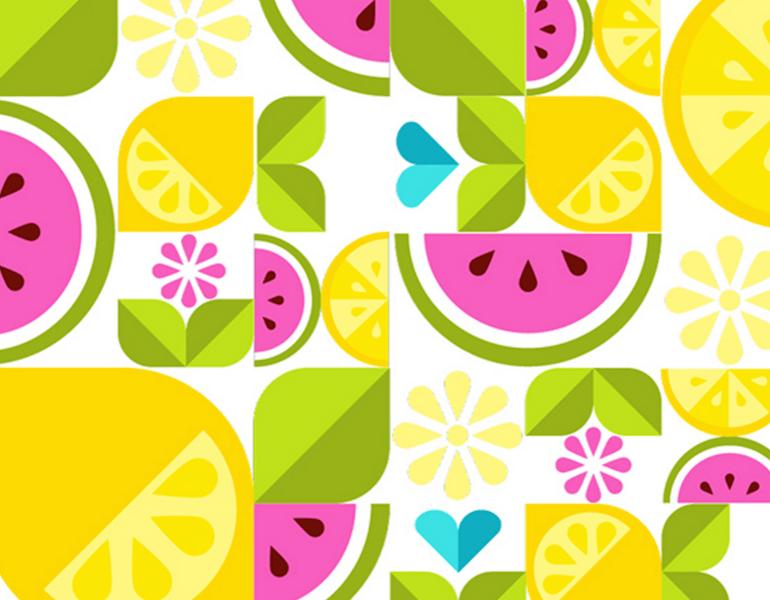 Simple Shape Fruit