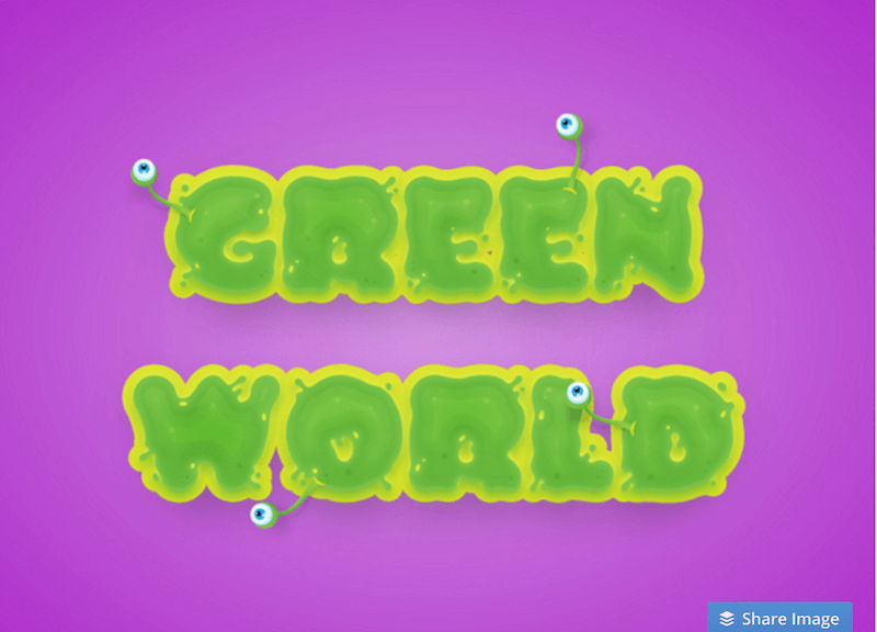 How to Create a Slimy, Alien Text Effect in Adobe Illustrator