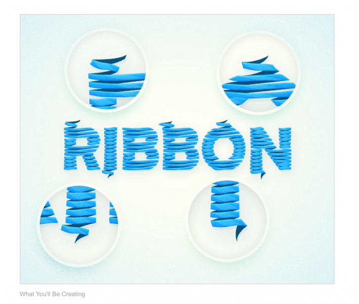 How to Create a Wrapped Ribbon Text Effect in Adobe Illustrator