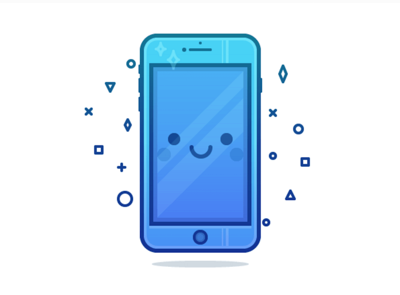 Cute Phone Character