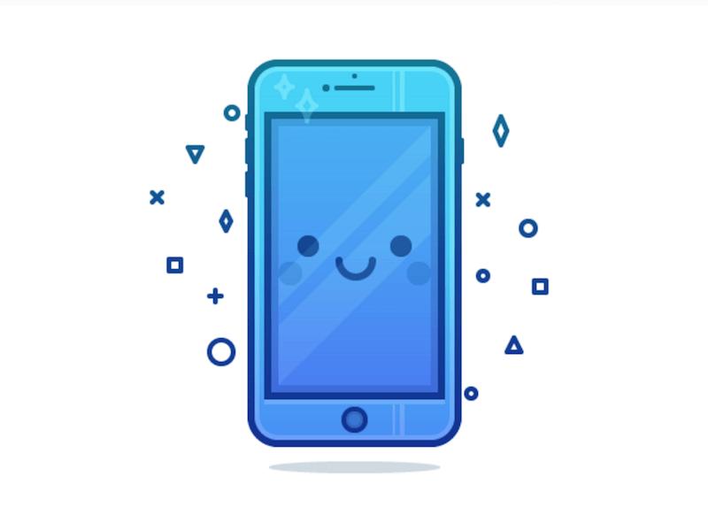 Cute Phone Character