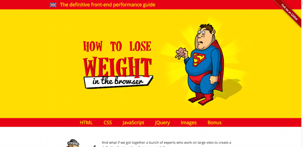How to lose weight in the browser