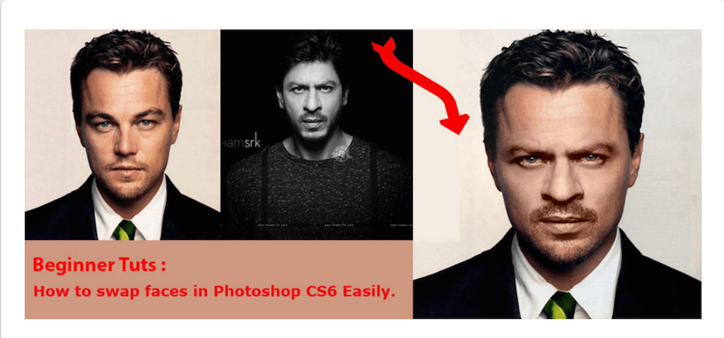 How to swap faces in Photoshop CS6