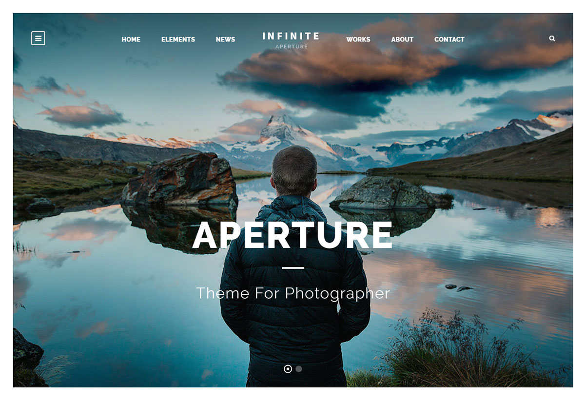 Infinite Theme Review Photography Demo