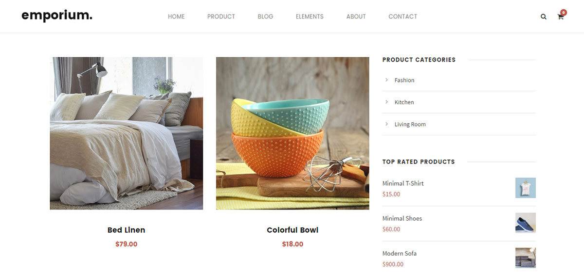 Infinite Theme Review WooCommerce