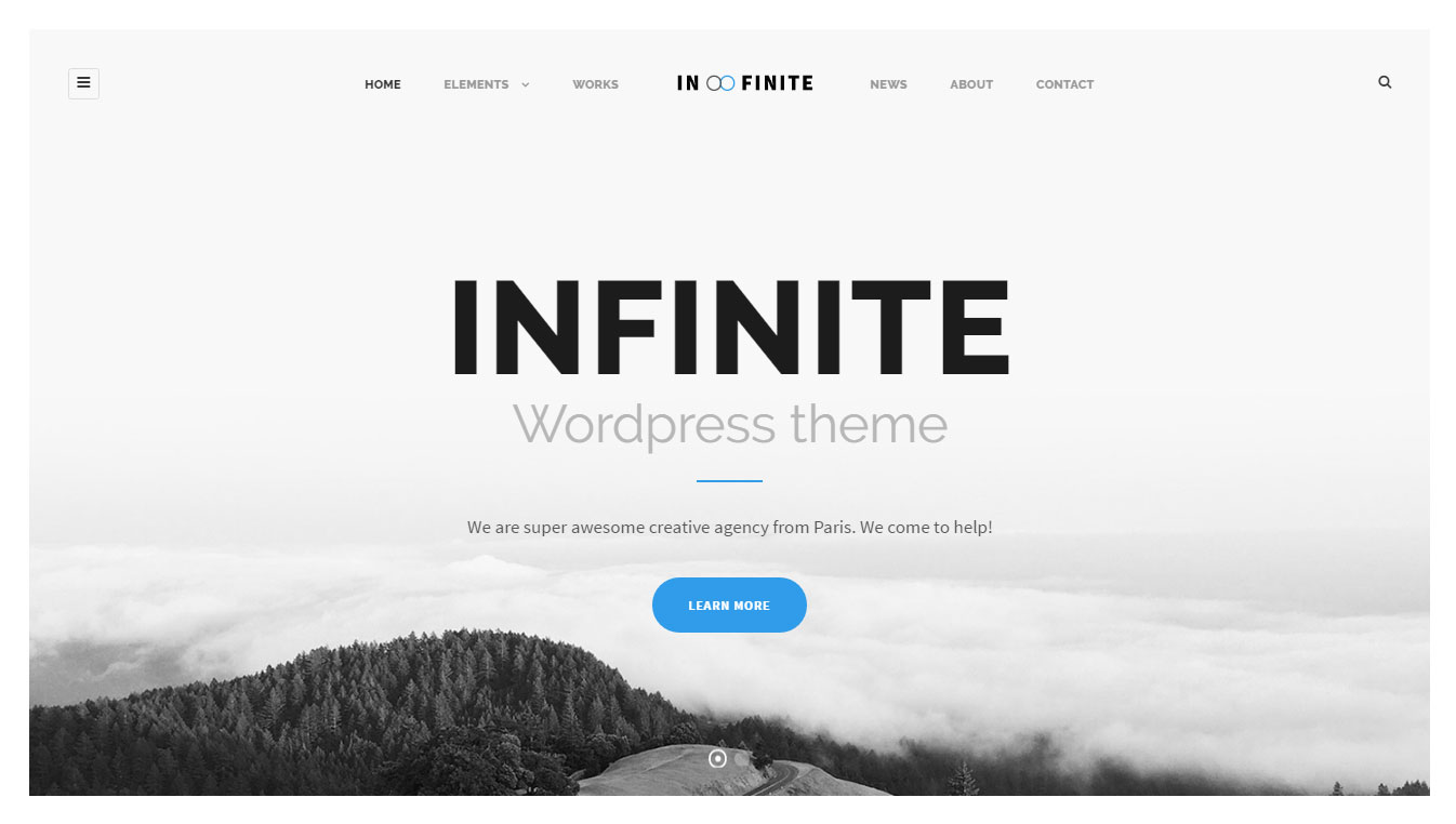 Infinite Package WordPress Theme Review